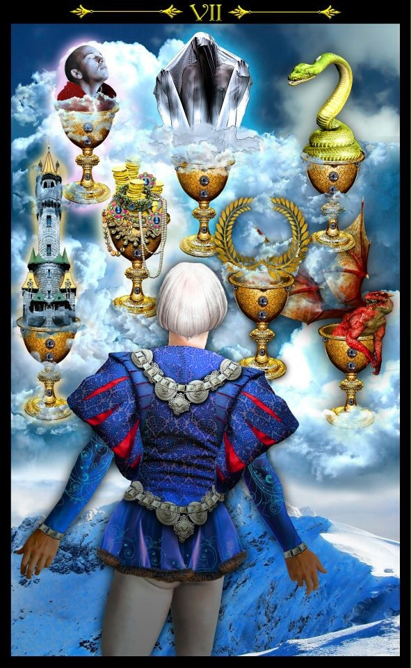 Card of the Day – 7 of Cups – Saturday, July 30, 2016 « Tarot by Cecelia
