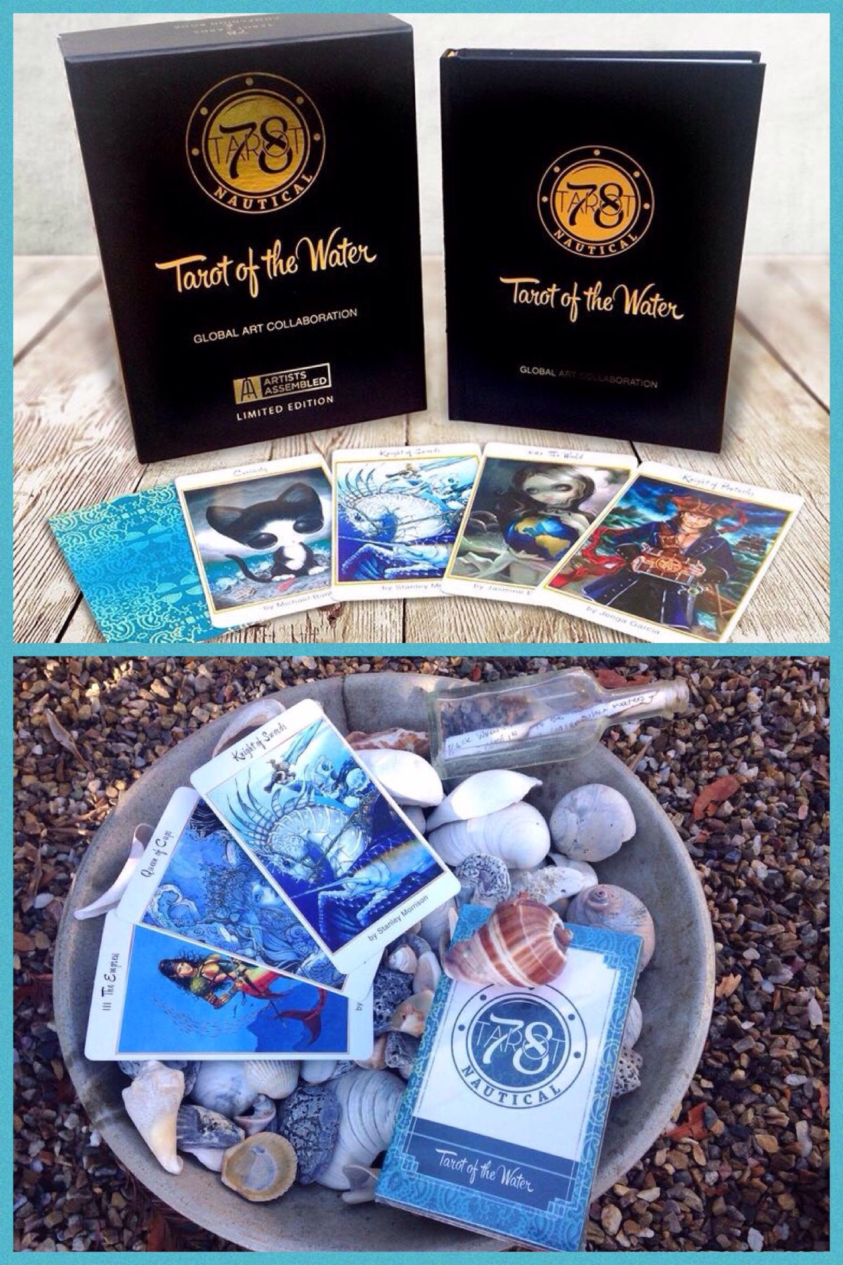 Tarot Of The Water « Tarot By Cecelia