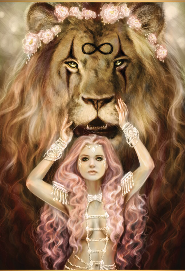 Featured Card Of The Day Strength 78 Tarot Carnival